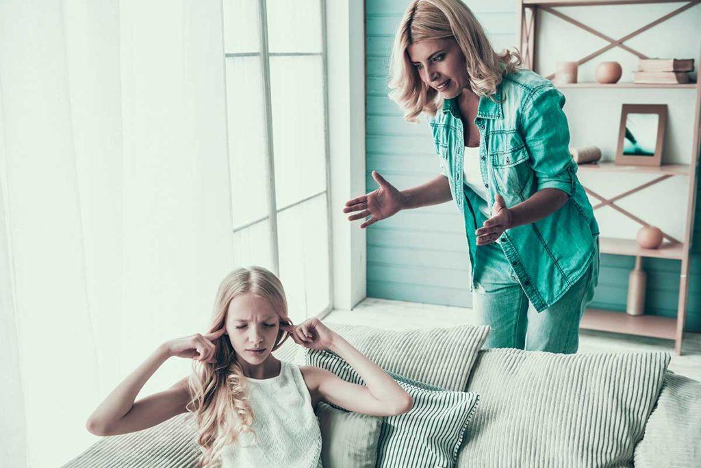 Resolver conflictos con los hijos