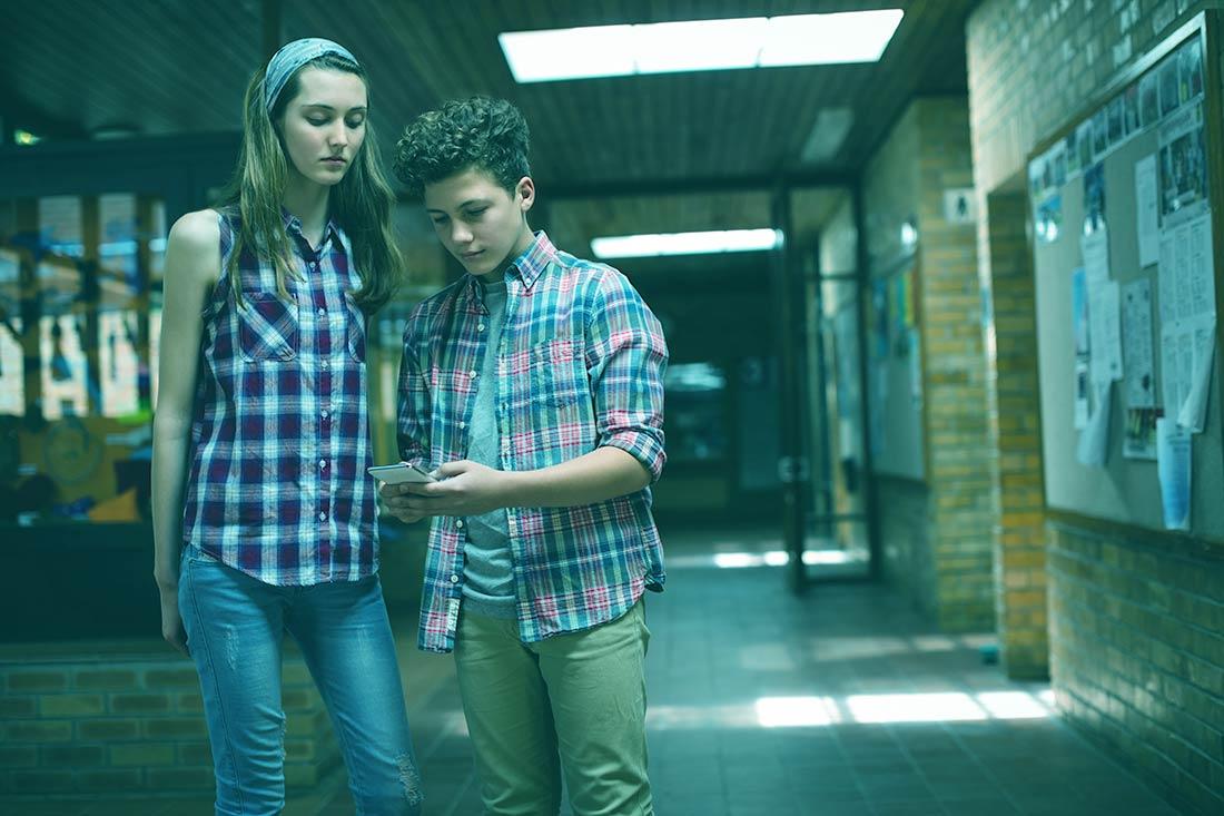Sí, el ciberbullying también se da en el aula